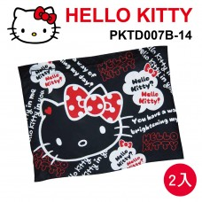 HELLO KITTY PKTD007B-14 汽車遮陽簾52x68cm(2入)黑