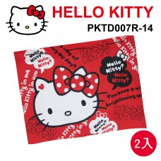 HELLO KITTY PKTD007R-14 汽車遮陽簾52x68cm(2入)紅