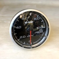 [出清]Top Gauge賽車錶(紅白雙色高反差)60mm溫壓錶