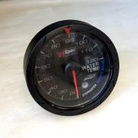 [出清]D1 Spec D1B002-2 七彩二代賽車錶(黑版)60mm水溫錶