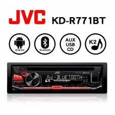 JVC KD-R771BT USB/MP3/WMA/AUX/CD/無線藍芽 高音質音響主機