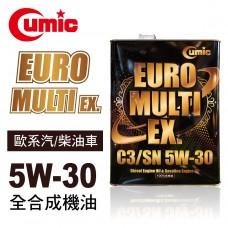 CUMIC庫克 EURO MULTI EX. C3/SN 5W30 全合成機油4L