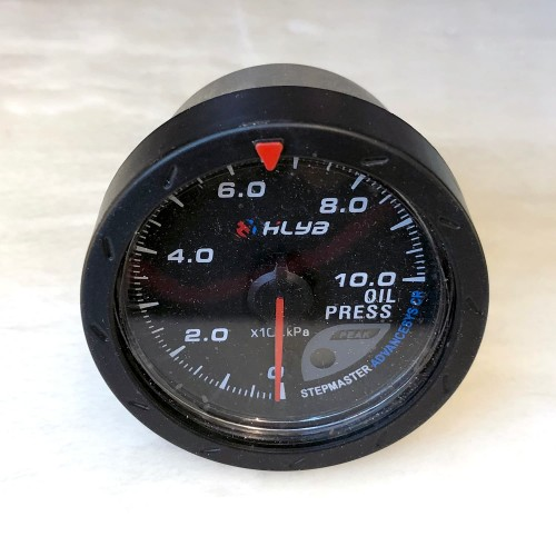 [出清]ADVANCE HLYA DP賽車錶60mm油壓錶