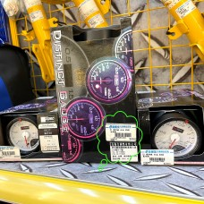 [出清]D1 Spec 賽車錶(白版)60mm油溫錶
