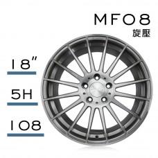 MF08 鋁圈 18吋8J 5孔 PCD108 灰透