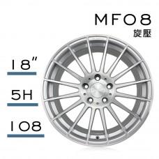 MF08 鋁圈 18吋8J 5孔 PCD108 銀刷面
